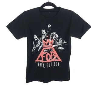 Fall Out Boy Monument 2014 Concert Tour Tee S